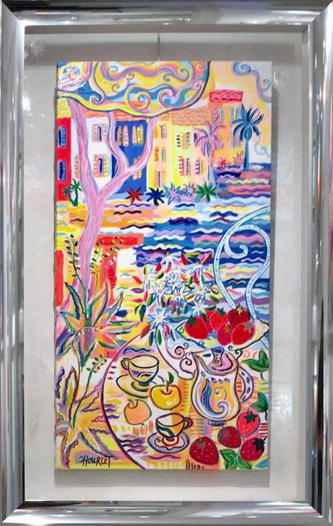 Lys de provence alu gondole for Peinture couleur argent